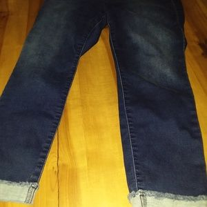 Brand new crop cuffed jeans by Juicy Couture